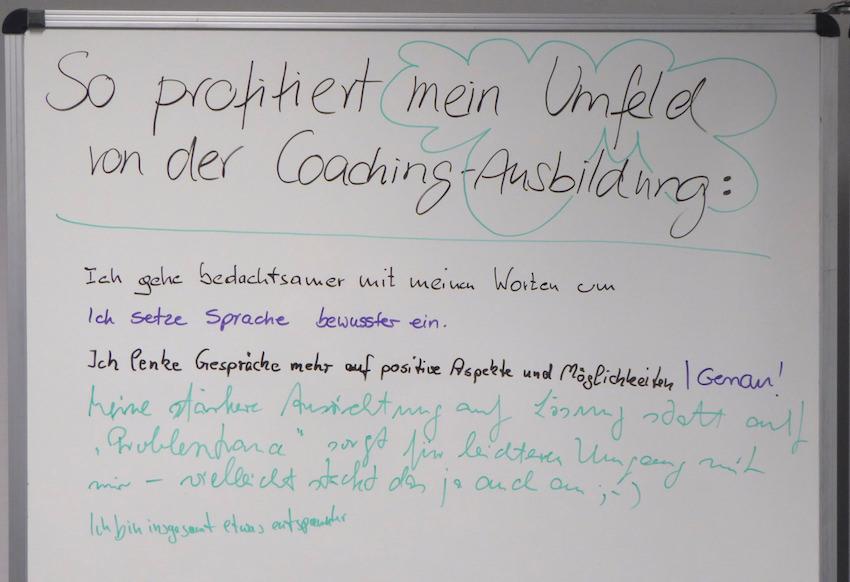 So profitiert mein Umfeld von der Coaching-Ausbildung