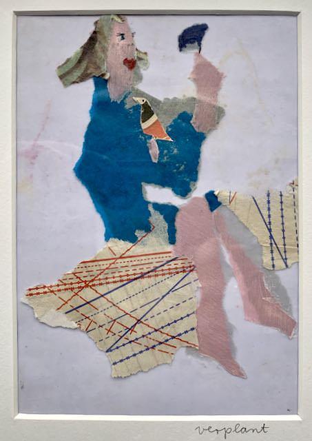 """Collage """"Verplant"""" von Iris Menges."""